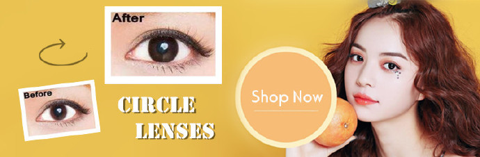 Weekly Specials on colored contact lenses with minimum spend promotion at OKJOO's!