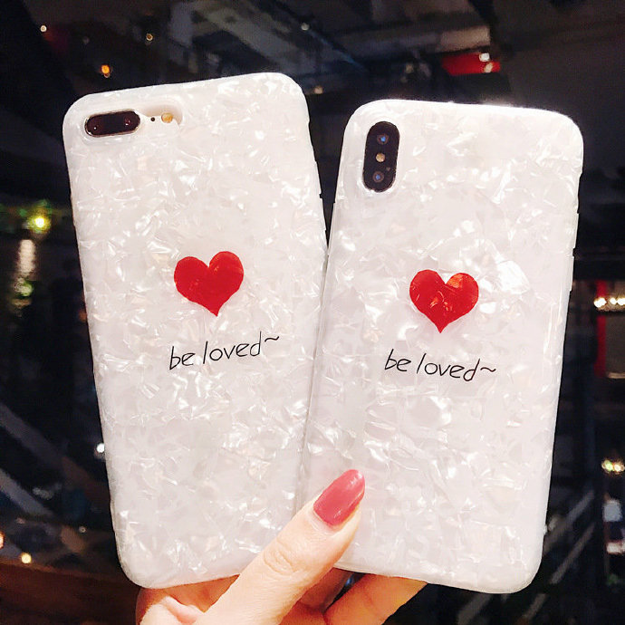 Beloved Liquid Silicone Rubber Shockproof Case For iPhone 7/7P/8/8P/X/XS/XR/MAX