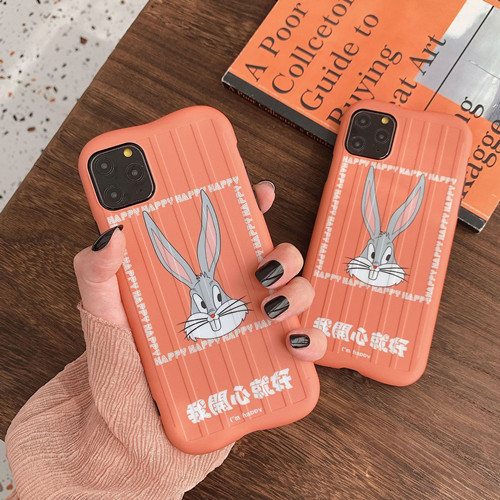 Happy Bunny Liquid Silicone Rubber Shockproof Case For iPhone 11 Pro