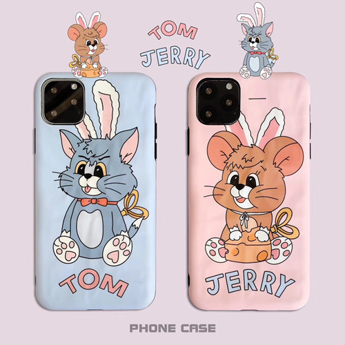 Tom and Jerry Liquid Silicone Rubber Shockproof Case For iPhone 11 Pro